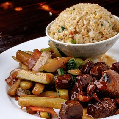 Beef Teriyaki Hibachi (Lunch)