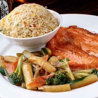 Salmon Hibachi (Lunch)