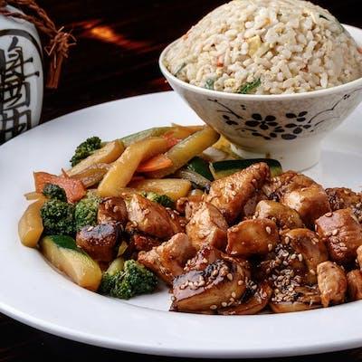 Chicken Sesame Hibachi (Lunch)