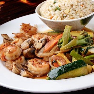 Shrimp Hibachi (Lunch)