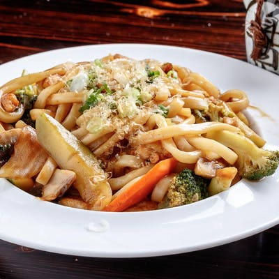 Chicken Yaki Udon or Yakisoba (Lunch)