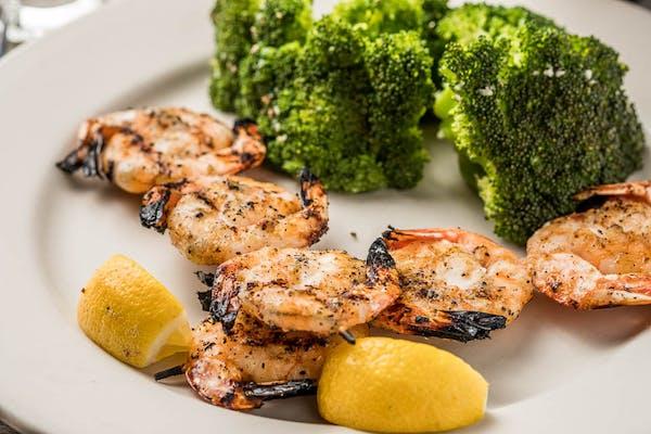 Skewered Shrimp (Lunch)