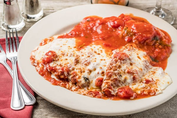 Veal Parmigiana (Lunch)