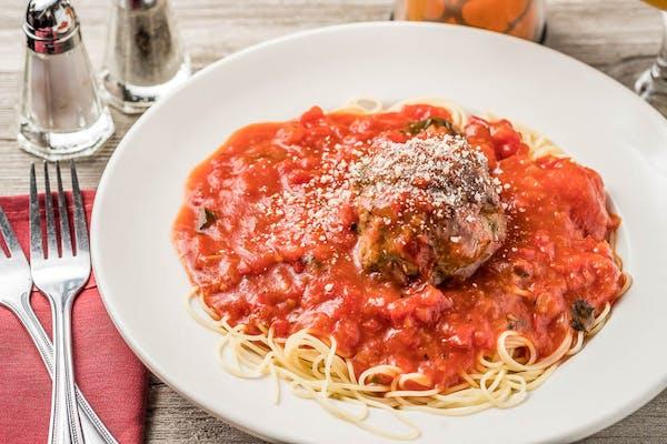 Spaghetti & Meatball (Lunch)