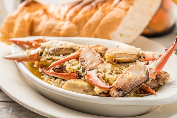 Sautéed Crab Claws