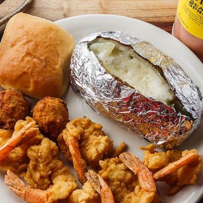 Half-Dozen Shrimp Dinner