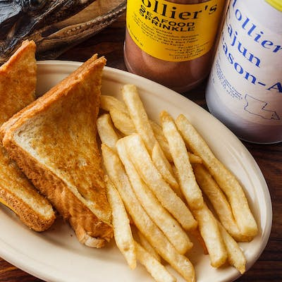 Little Cajun Grilled Cheese