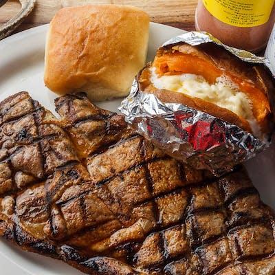 Charbroiled Pork Steak
