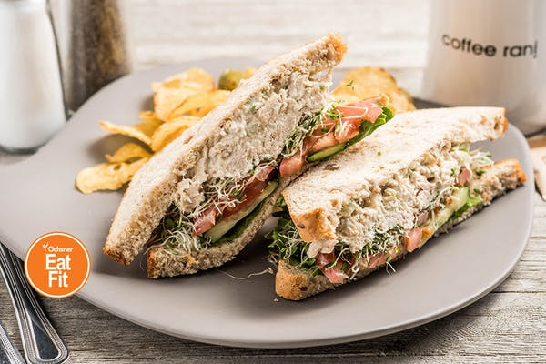 Eat Fit Chicken Salad Sandwich