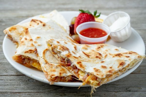Sunrise Quesadilla