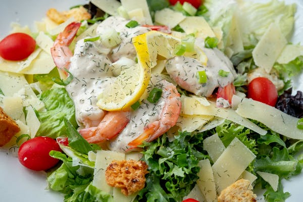 Green Onion & Shrimp White Rémoulade Salad