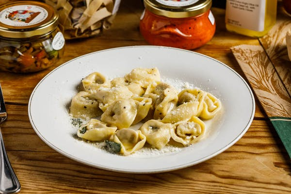 Veal-Stuffed Tortellini in Butter & Sage