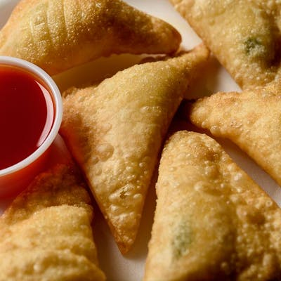Fried Crab Rangoon