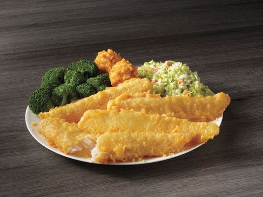 4 Piece Batter Dipped Fish Meal