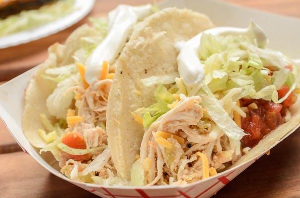 Hand-Rolled Flour Tortilla Tacos