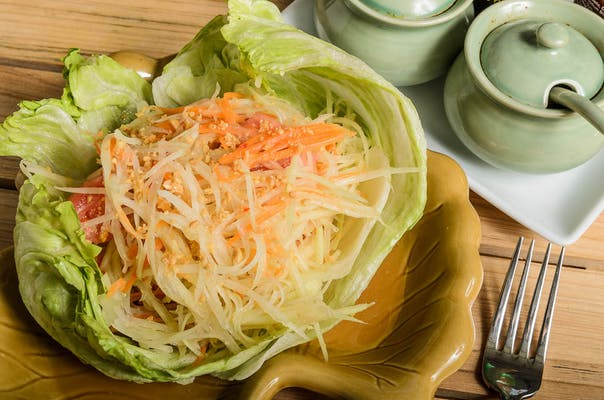S2. Green Papaya Salad