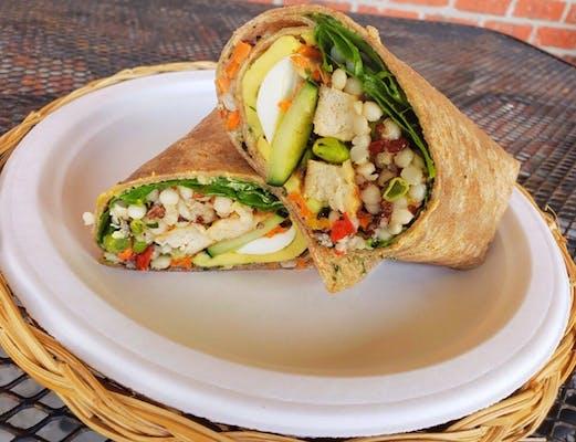 Power Chicken Veggie Wrap