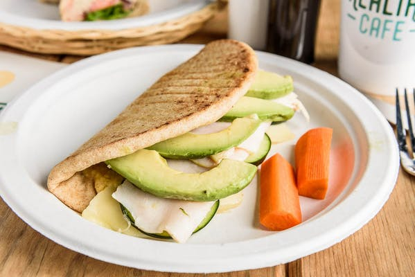 Turkey Avocado Hummus Pita
