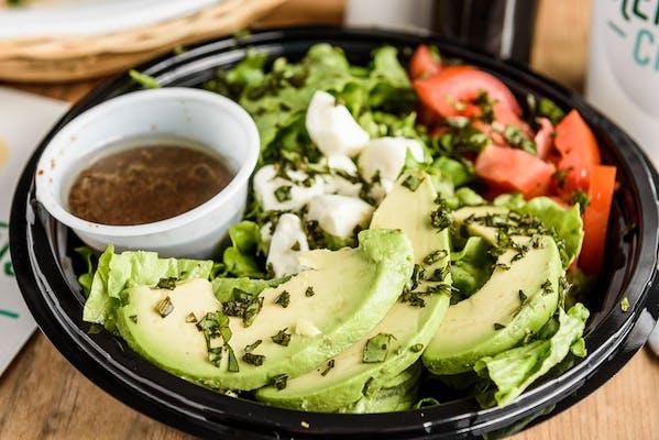 Side Avocado Caprese Salad