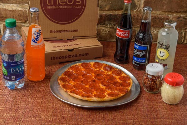 Small Single Topping Pizza & Drink