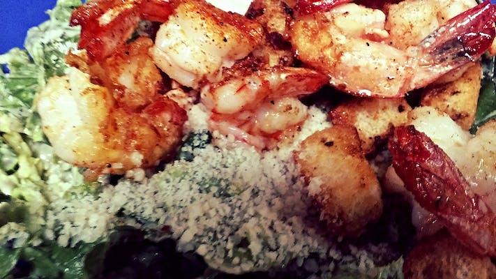Grilled Shrimp Caesar