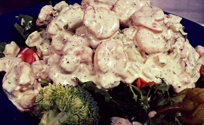 New Orleans Shrimp Salad