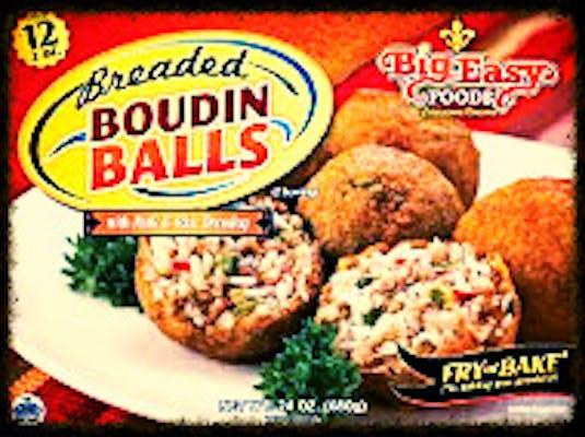 Frozen Big Easy Boudin Balls
