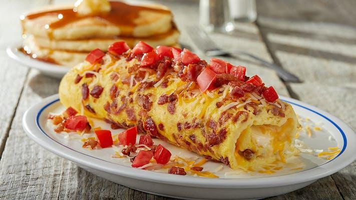 Bacon Temptation Omelette