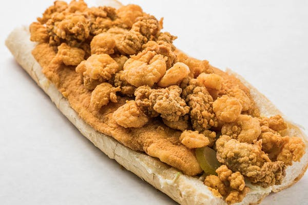 Fried Seafood Po Boy