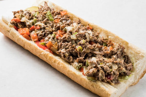 Philly Beef Cheesesteak Po Boy