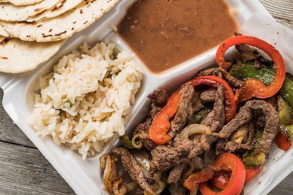 Beef Sizzling Fajita Plate