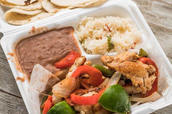 Chicken Sizzling Fajita Plate