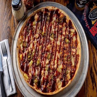 BBQ Chicken Luau Pizza