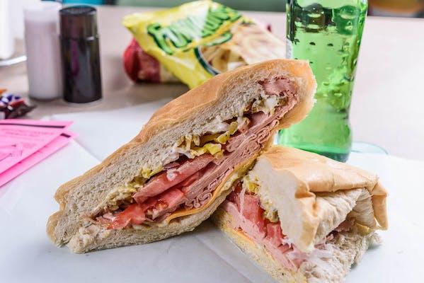 Bologna & Cheese Sandwich
