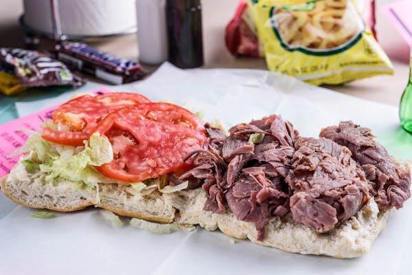 Seasoned Roast Beef & Cheese Sandwich