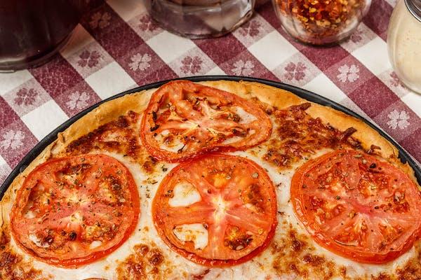 Straight Tomato Pizza