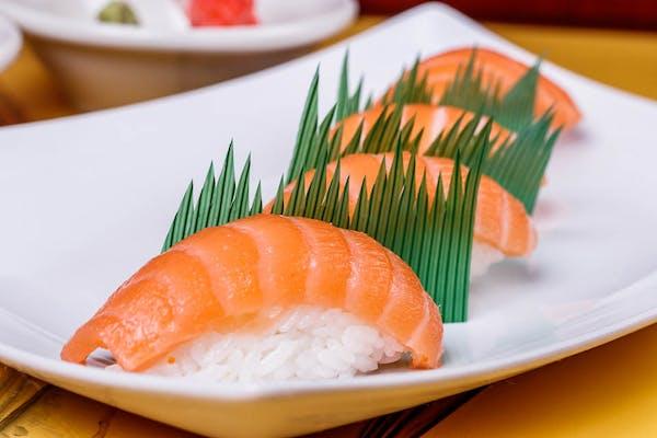 R19. Salmon Nigiri
