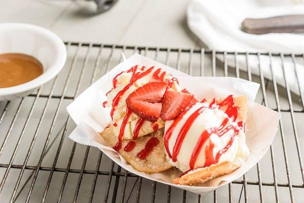 Cheesecake Nachos