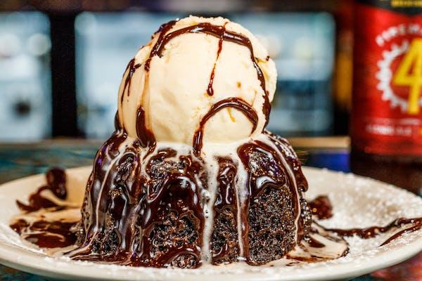Chocolate Molten Sundae