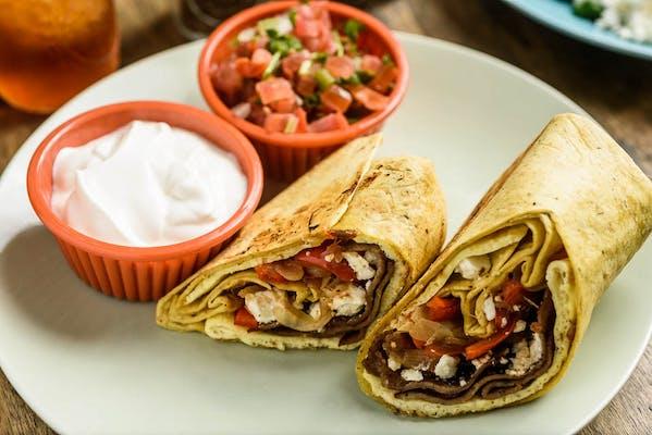 Olympus Breakfast Burrito