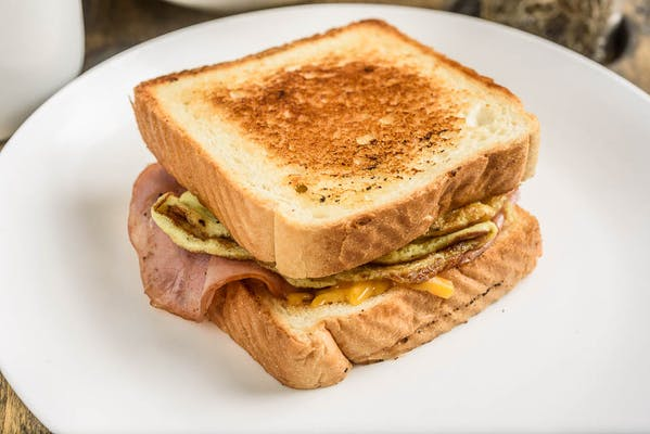 Ham, Egg & Cheese Sandwich