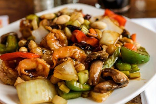 SF8. Kung Pao Shrimp