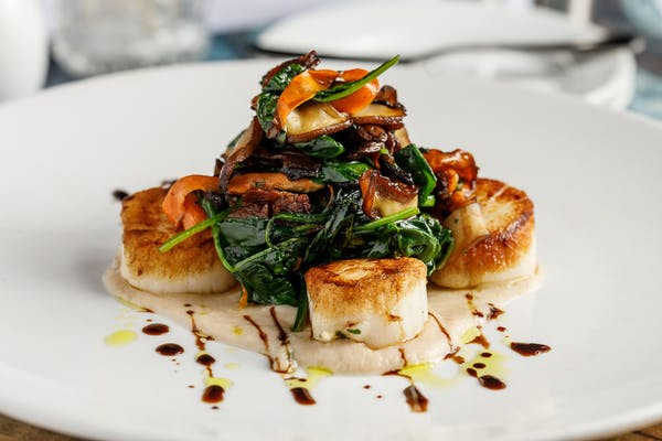 Pan-Seared Diver Scallops