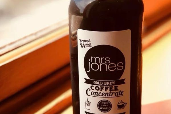 Mrs. Jones Cold Brew Coffee Concentrate