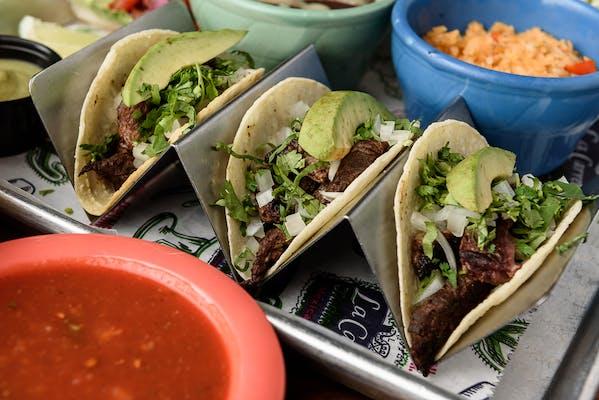 Three Regular Tacos