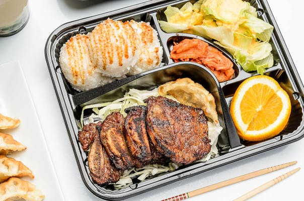 Korean BBQ Bento Box