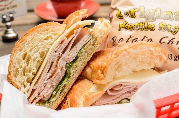 Turkey & Provolone Sandwich
