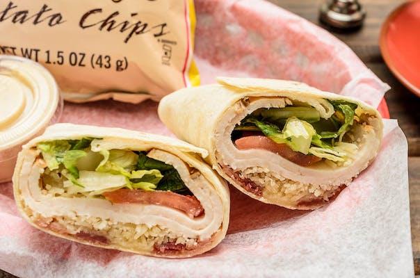 Chicken Caesar Bacon Wrap
