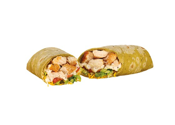 Savory Rotisserie-Style Chicken Caesar Wrap