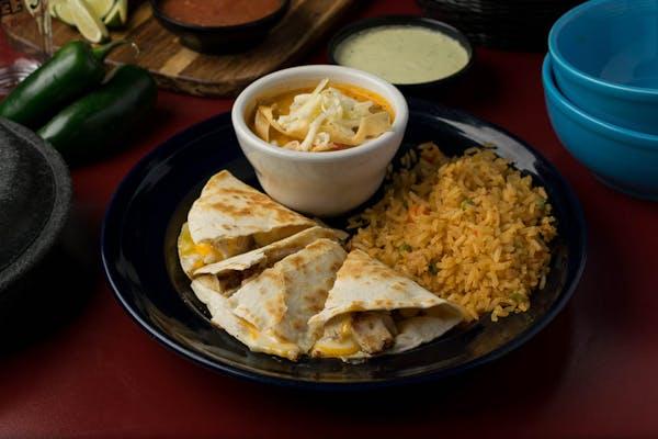 Lunch Fajita Quesadilla